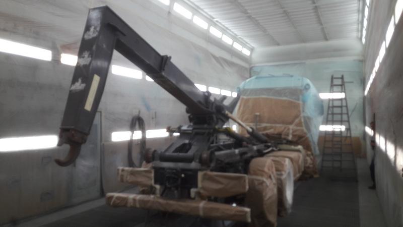 12 peinture du chassis